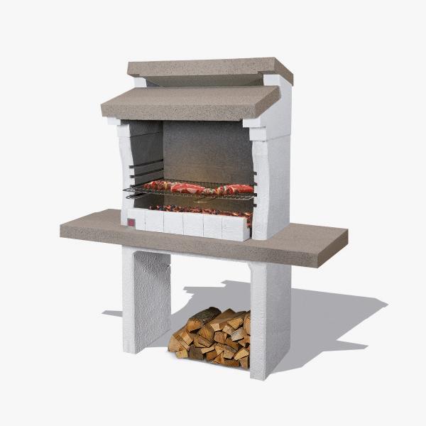 Sarom Griglia di Cottura cromata 67x40 Barbecue Acciaio